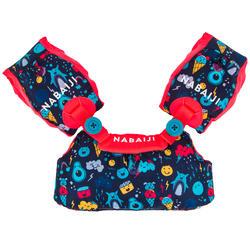 Puddle jumper TISWIM voor kinderen donkerblauw met print