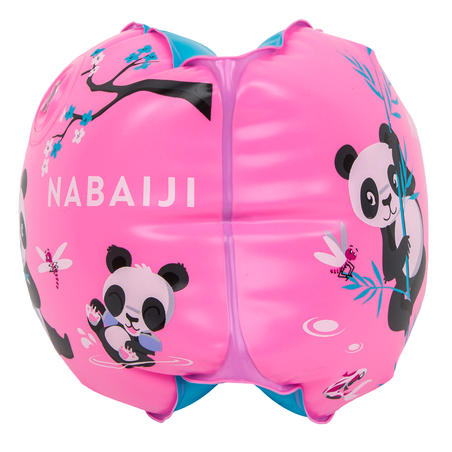 """Swimming armbands for kids with """"PANDAS"""" print - 11-30 kg"""
