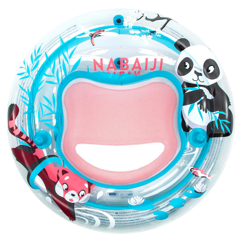 "Swimming TINOA learning-to-swim platform for infants - ""Pandas"" print"