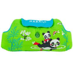 """Brassards-ceinture de natation évolutif TISWIM enfant vert imprimé """"PANDAS"""""""