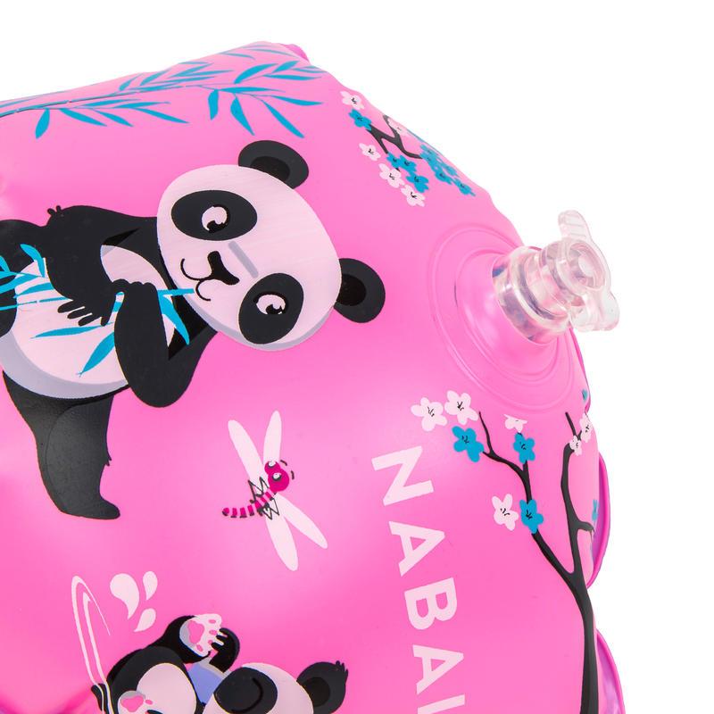 Flotadores de Natación Niños Estampado Pandas 11-30 kg