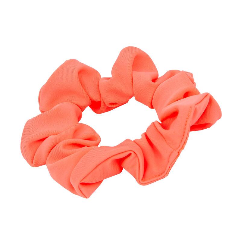 Scrunchie voor zwemmen meisjes koraal
