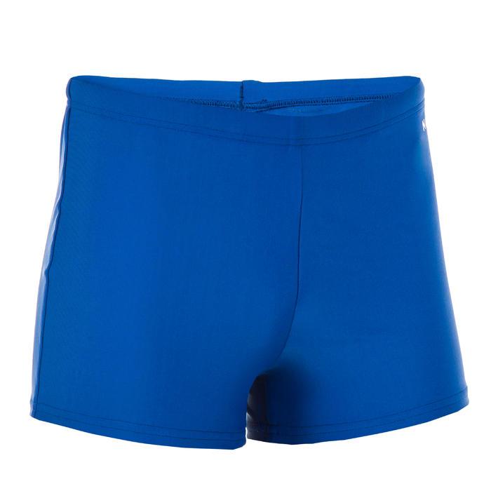 BOY'S BOXER SWIMSUIT 100 BASIC BLUE