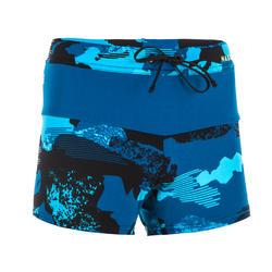 Boys swimming boxer shorts - Printed blue