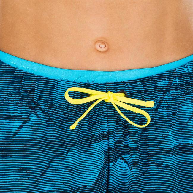 Boys swimming. long shorts - Printed blue