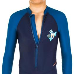 男童款潛水衣泳裝100 - 深藍色