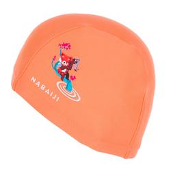 Badmuts textiel maat S print red panda oranje