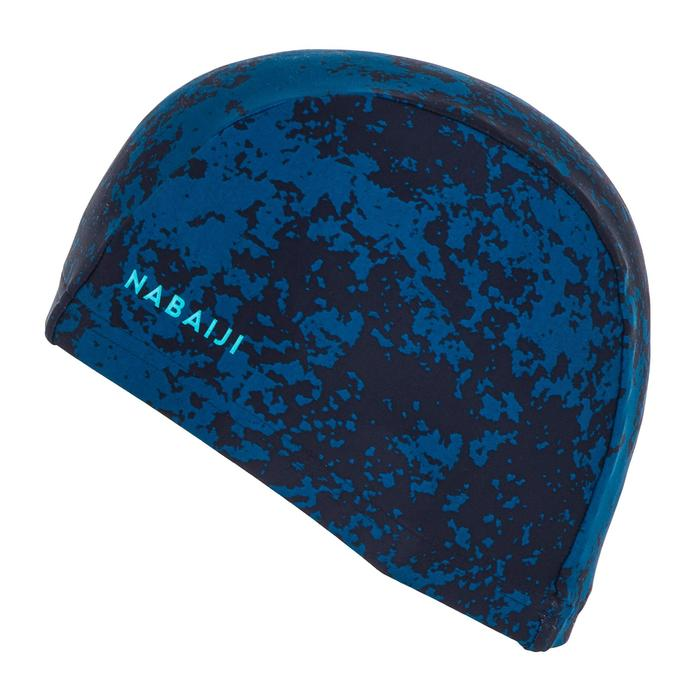 Bonnet de bain maille print taille L all hide blue