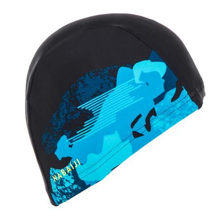Topi renang mesh ukuran L camo placed hitam