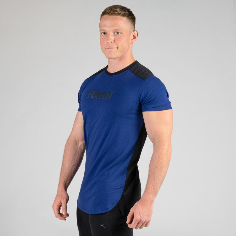 Weight Training Chest Day T-Shirt - Blue