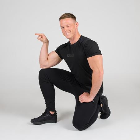 T-shirt de musculation haut du corps