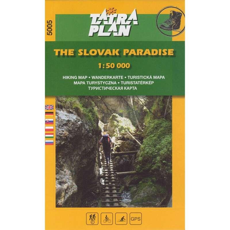 térképek Túrázás - Szlovák Paradicsom térkép CARTOGRAPHIA - Túra felszerelés