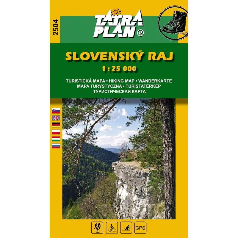térképek Túrázás - Szlovák paradicsom (2504) CARTOGRAPHIA - Túra felszerelés