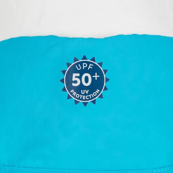 Uv-werende pet voor in het water voor peuters blauw