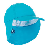 Baby Swimming UV Protection Cap - Blue
