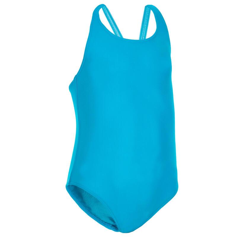 Costum Întreg înot Albastru Fete