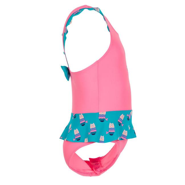 Baby girl swimming costume - Pink Blue