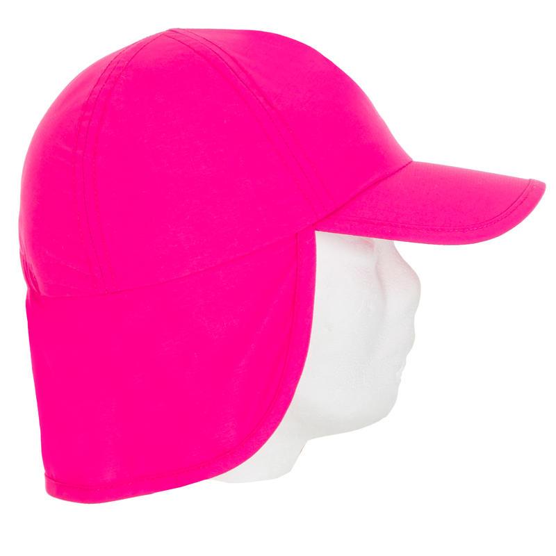 Gorro Anti-UV Bebé Rosa