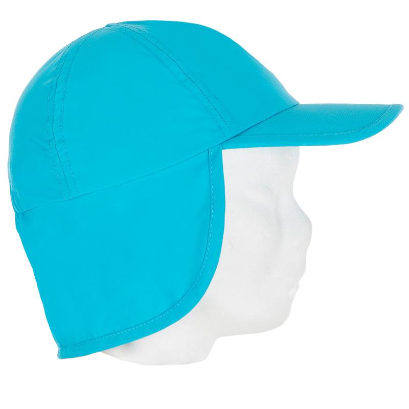 Gorro Anti-UV Bebé Azul