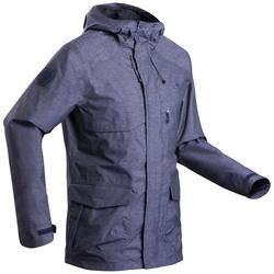 Men's country walking waterproof jacket - NH550 Waterproof