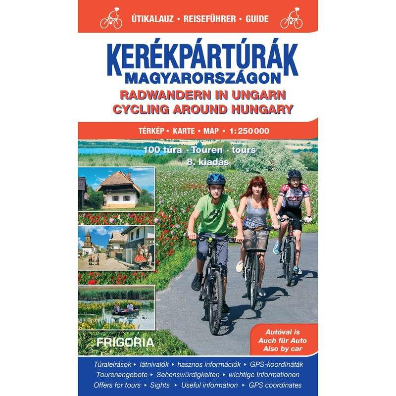 térképek Kerékpározás - Kerékpártúrák Magyarországon CARTOGRAPHIA - Kerékpár kiegészítők