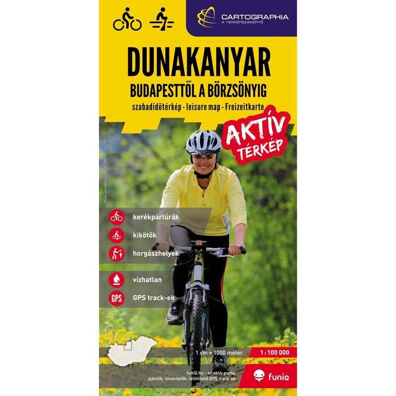 Térképek Túrázás - Dunakanyar aktív térkép CARTOGRAPHIA - Túra felszerelés