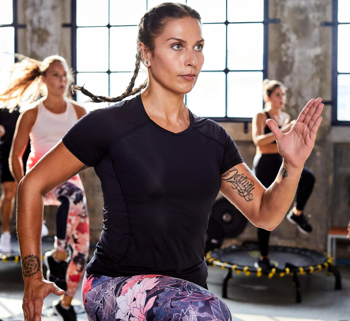 cardio training mulher