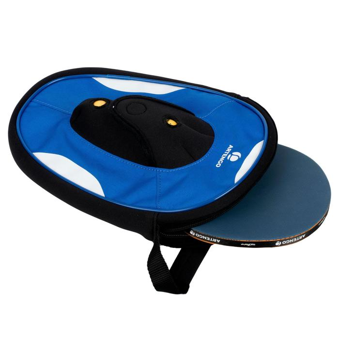 HOUSSE DE RAQUETTE DE TENNIS DE TABLE FC 800 BLEUE - 174681
