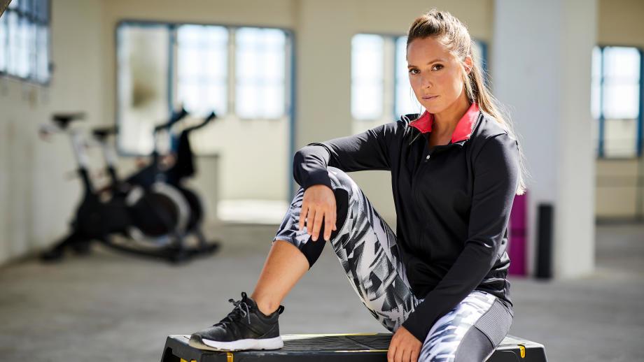 veste de fitness pour femme