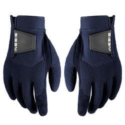 Winterhandschoenen voor golf dames marineblauw