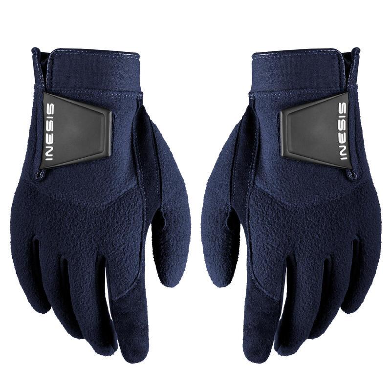 Women's golf pair of winter gloves CW navy blue
