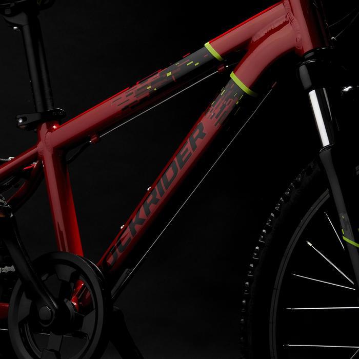 Kindermountainbike Rockrider ST 900 20 inch 6-9 jaar rood
