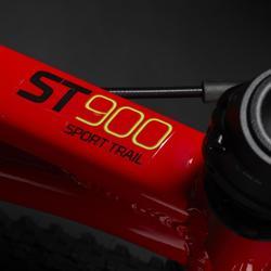 Mountainbike kind 20 inch Rockrider ST 900 6-9 jaar rood