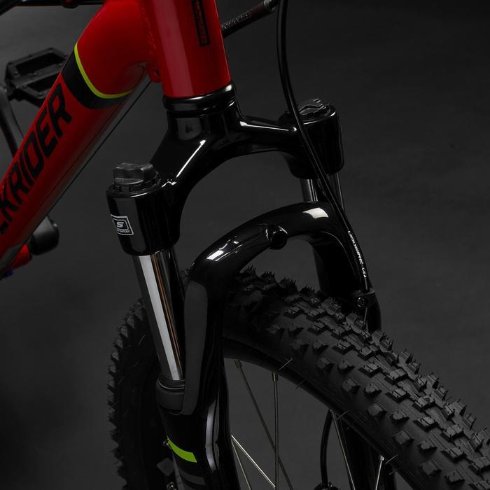 Kindermountainbike Rockrider ST 900 24 inch 9-12 jaar rood