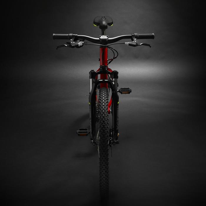 Mountainbike kind 24 inch Rockrider ST 900 9-12 jaar rood