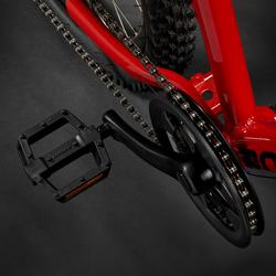 Mountainbike voor kinderen 9-12 jaar Rockrider ST 900 24 inch rood