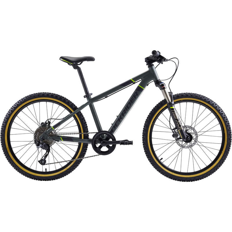 KIDS MTB BIKES 6-12 YEARS Cycling - Rockrider ST 920 Kids Alloy Mountain Bike - 24