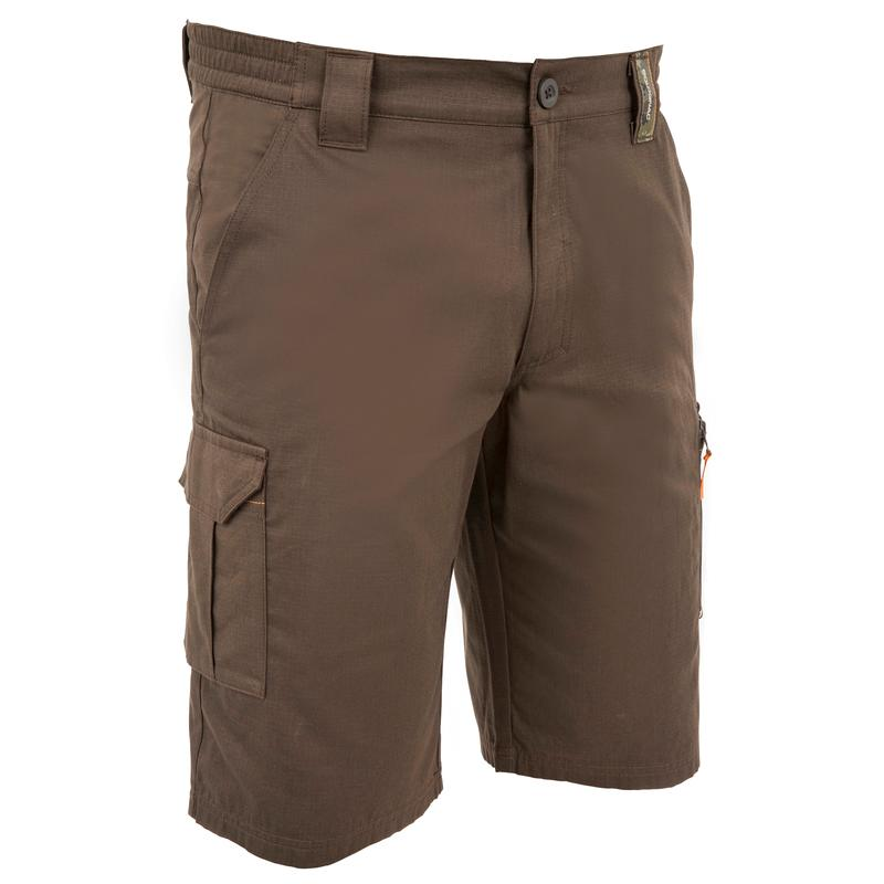 Men's Bermuda Shorts 500 Brown