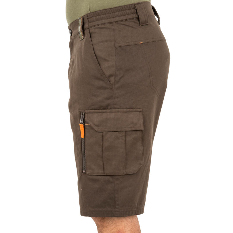 Bermuda 500 Camouflage Shorts - Brown