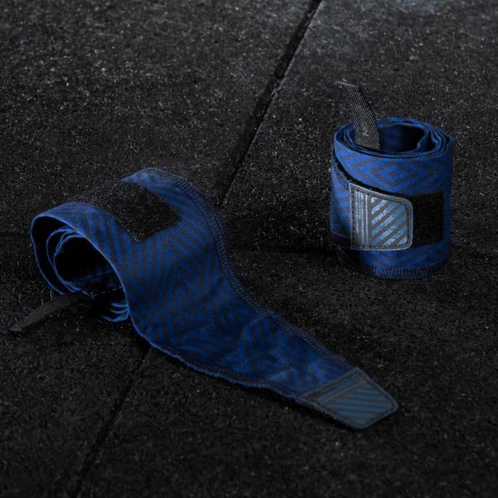 Polsbeschermers voor crosstraining blauw
