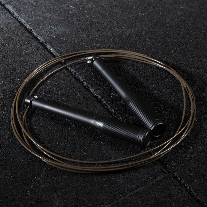 Corde à sauter de vitesse noire