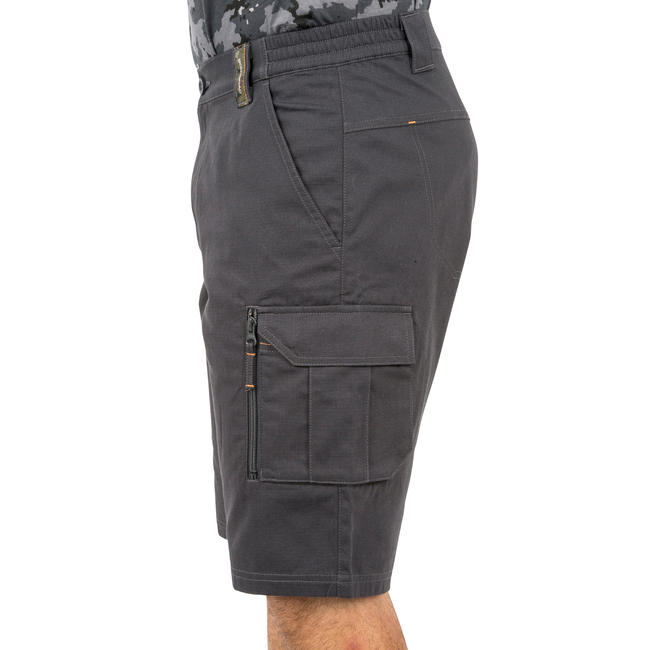 Men's Bermuda Shorts 500 Grey