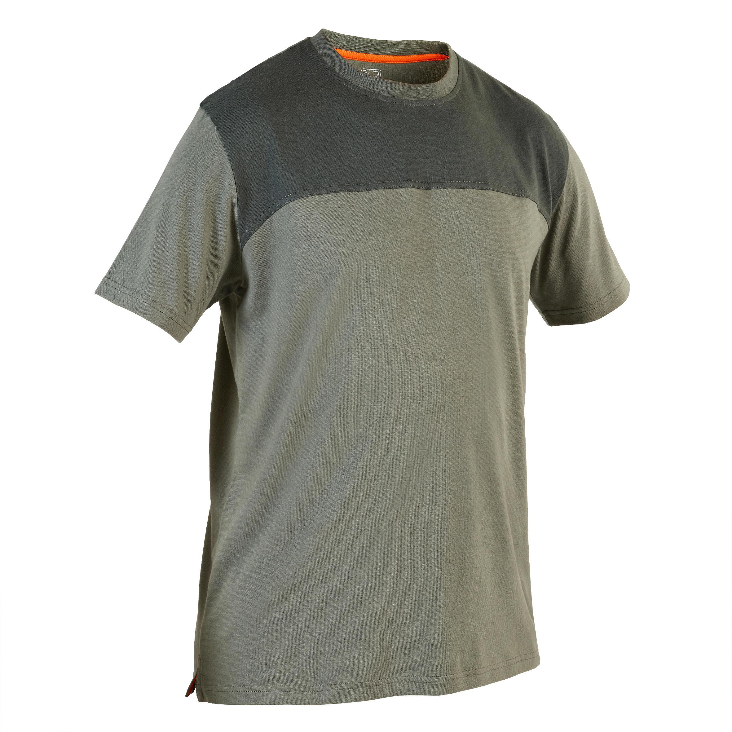 Tricou Vânătoare 500 Verde