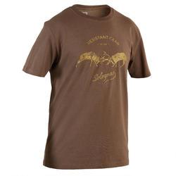 Jagersshirt met korte mouwen 100 2 herten