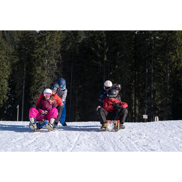 Klassieke houten slee Davos 120 cm
