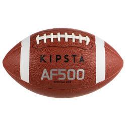 Bola de Futebol Americano AF500 tamanho oficial Castanho