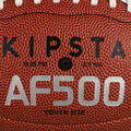 AMERICKÝ FOTBAL Americký fotbal - MÍČ AF500BY HNĚDÝ KIPSTA - Míče na americký fotbal a doplňky