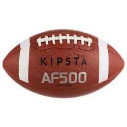 Bola de Futebol Americano AF500 tamanho youth Castanho