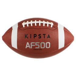 Bola de Futebol Americano Tamanho Criança AF500 Castanho