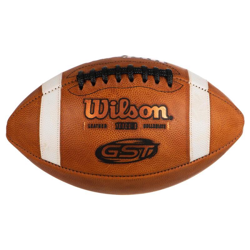 Balón de Fútbol Americano Wilson GST 1003 a partir de 14 años marrón